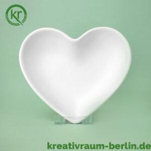 Herzschale Keramik bemalen
